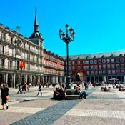 economic car rental in Madrid